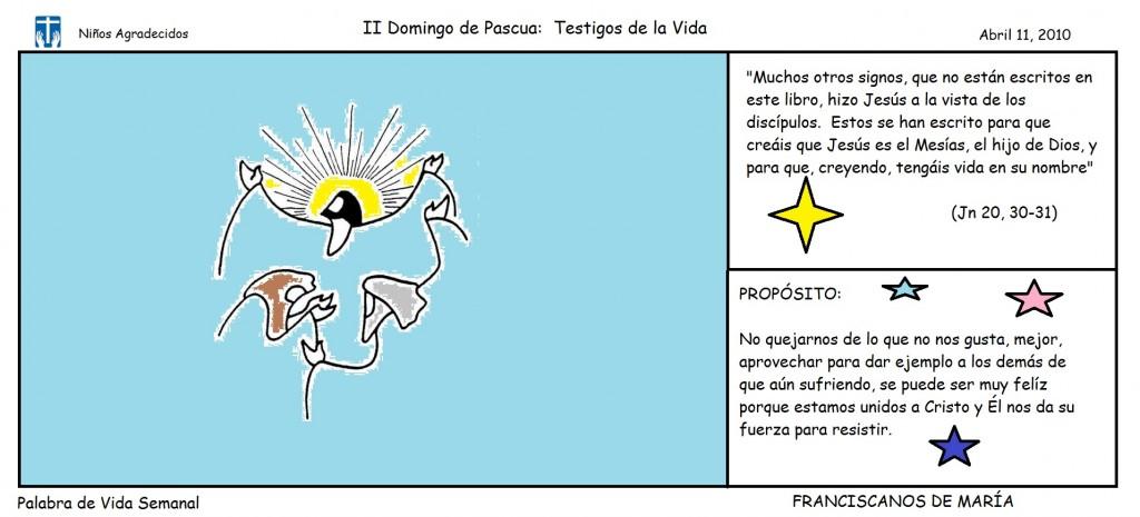 II DOMINGO DE PASCUA
