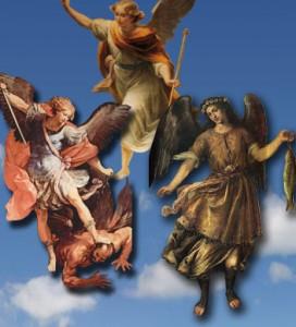 Arcangeles Miguel,Gabriel y Rafael